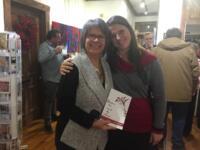 Avec l'artiste Julie Gélinas