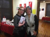 Avec Lucie Beauregard